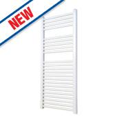 Flomasta Flat Ladder Towel Radiator White 1100 x 600mm 590W 2013Btu