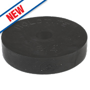 """Arctic Products Holdtite Flat Tap Washers Black ¾"""" Pack of 5"""