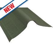 Coroline Roofing Ridges Green 1000 x 420mm 5 Pack