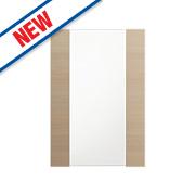 Oak Kitchens Slab 500 Glass Wall Door 496 x 732mm
