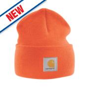 Carhartt A18 Beanie Hat Orange