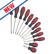 Forge Steel Screwdriver Set 12 Pieces