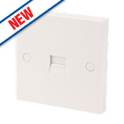 1G BT Master Telephone Socket White