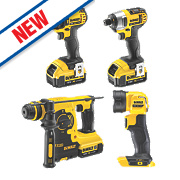 DeWalt DCK454M3T-GB 18V 4.0Ah Li-Ion XR Cordless 4 Piece Kit