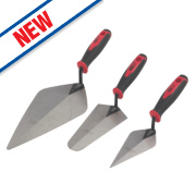 Forge Steel Builders Trowel Set 3 Pieces