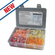 Ideal Insure & Spliceline 2/3/4-Port Push-In Wire Connectors 120 Piece Set