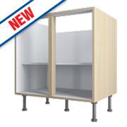 Oak Kitchen Base Cabinet 800 x 570 x 880mm