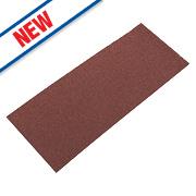Flexovit Sanding Sheets Aluminium Oxide 230 x 115mm 60 Grit Pack of 5