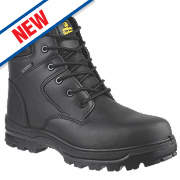 Amblers FS006C Metal Free Safety Boots Black Size 9