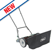 Webb WEH18 46cm Push Cylinder Contact Less Hand Push Lawn Mower
