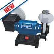 Scheppach BG200W 200mm Wet & Dry Bench Grinder 230V