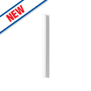 Gloss White Handleless Kitchen Base Corner Conversion Kit 92 x 58 x 735mm