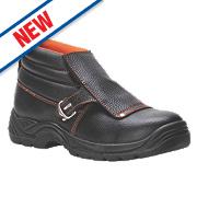 Steelite FW07 Safety Welders Boots Black Size 9