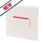 10A 3-Pole Fan Isolation Switch White