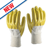 Skytec Neon Gloves Yellow Large