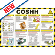 COSHH Poster 420 x 594mm
