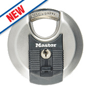 Master Lock Keyed Alike Excell Disc Padlock Stainless Steel 70mm