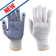 Keepsafe Polka Dot Picking Gloves White/Blue Large
