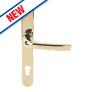Mila ProLinea Lever Door Handles Type B Pair Polished Gold