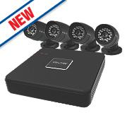 QVIS KIT 006 8-Channel CCTV Digital Video Recorder & 4 Camera Kit