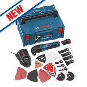 Bosch GOP108LBOXX 10.8V 1.5Ah Li-Ion Cordless Multi-Cutter w/36 Accessories