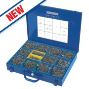 Silverscrew Woodscrews Expert Trade Case 2800 Pieces