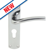 Serozzetta Serozzetta Cuatro Door Handle Pack Polished Chrome