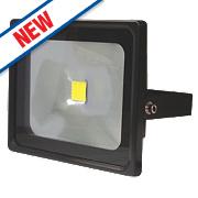 LAP Slimline LED Floodlight Black 50W