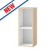Oak Kitchen Wall Cabinet 300 x 282 x 738mm