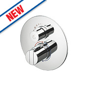 Ideal Standard Concept Easybox Slim Built-In Thermostatic Mixer Shower Valve Fixed Chrome