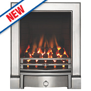 Focal Point Soho Full Depth Gas Fire Chrome Inset 6.8kW