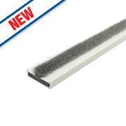 Firestop Intumescent Fire & Smoke Door Seal White 10 x 4 x 2100mm Pack of 10