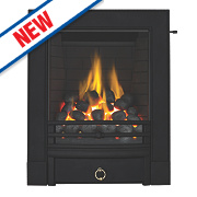 Focal Point Soho Full Depth Finger Slide Gas Fire Black Inset 6.8kW