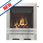 Focal Point Lulworth High Efficiency Gas Fire Stainless Steel Inset 5kW