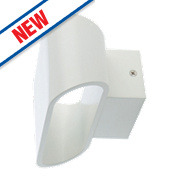 Luceco LED Wall Light White 255Lm 8.3W