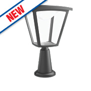 Philips Cottage Black LED Post Light 430Lm 4.5W