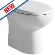 Grove Back-to-Wall Toilet Dual Flush 4/6Ltr