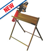 Handy Parts THSHWCS cm Log Capacity Log Saw Horse with Chainsaw Support