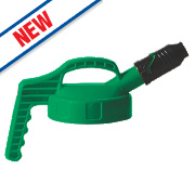 Lubetech Oil Safe Stumpy Spout Lid Green