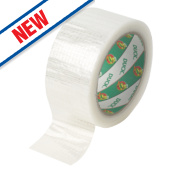 Duck Ultimate Cloth Tape Clear 50mm x 20m