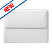 Ideal Standard Acrylic Bath End Panel 700mm White