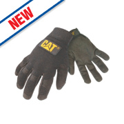 Cat Lightweight Mechanic's Gloves Black Large