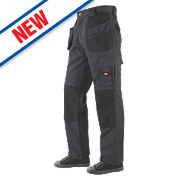 "Lee Cooper Holster Trousers Grey/Black 32"" W 31"" L"