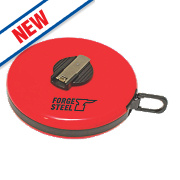 Forge Steel Fibreglass Tape Measure 50m