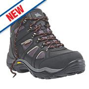 Hyena Valley Safety Boots Black Size 8