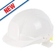 Centurion Reflex Hi-Vis Safety Helmet White