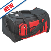 Holdall Kitbag Black/Red
