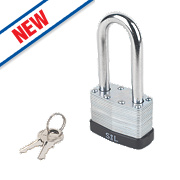 Smith & Locke Laminated Padlock 50mm