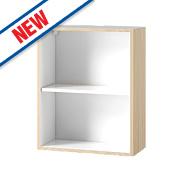 Oak Kitchen Wall Cabinet 600 x 282 x 738mm