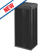 Hailo Big Box Touch Household Waste Bin Black 60Ltr